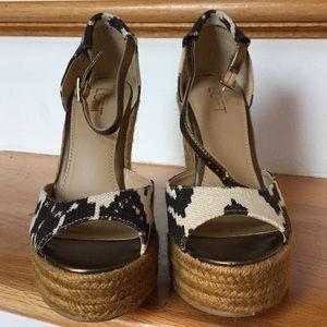 LOFT Shoes - Ann Taylor Loft NWOB Canvas espadrille never worn